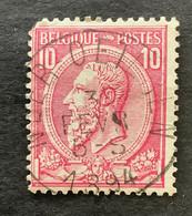 Leopold II OBP 46 - 10c Gestempeld NEEROETEREN - 1884-1891 Leopoldo II