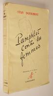 B0890[Boek] Pamphlet Contre Les Femmes / Stan Dotremont ; Illustrations De A. Barras. - [S.l.] : L'Alliance, [s.a.] - Autres