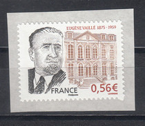 Eugène Vaillé, AUTO ADHESIF N° 369, 2009  Neuf **   Grande Marge - Adhesive Stamps