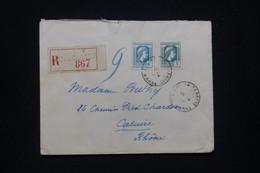 FRANCE - Enveloppe En Recommandé De Arc En Barrois En 1945 Pour Caluire, Affranchissement Marianne D'Alger - L 98229 - 1921-1960: Modern Tijdperk