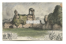 Wolvesey Castle, Winchester - Old Phillimore Postcard To Capt Spencer 30539, British Expeditionary Force - Winchester