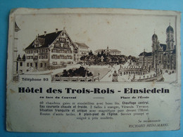 SUISSE - EINSIEDELN - Hôtel Des Trois Rois - SZ Schwyz