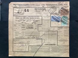 TR132, 138, 146 Op Bulletin D'Expedition / Verzendingsbulletijn EXPRES AALST NOORD ALOST NORD - LAUWE - 1923-1941