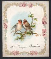 Menu (utilisé) Pour  Mariage  Rouzée- Allemoz   1901 (PPP28914 - Menus