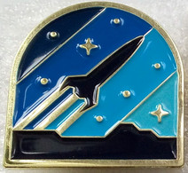 624 Space Pin Symbolism Rocket - Spazio