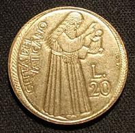 VATICAN - VATICANO - 20 LIRE 1975 - Paul VI - KM 128 - Vatican