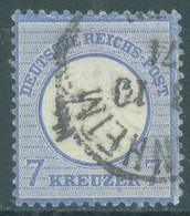 REICH - USED/OBLIT.- 1874 - 7 Kr BIG EAGLE -  Mi 26 Yv 23 - Lot 23523 - Gebruikt