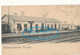 CHINE )) TANGKU   Stationsgebaude     Gare - China