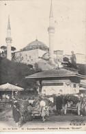 """Turquie - CONSTANTINOPLE - Fontaine Mosquée """"Scutari"""" - Turchia"""