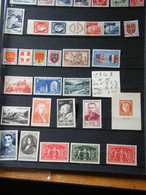 Annees Compltes  1949  Neuf ** - 1940-1949