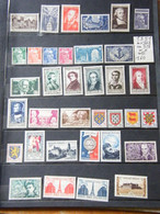 Annees Compltes  1951  Neuf ** - 1950-1959