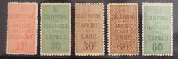 France Colis Postaux YT N° 28/32 Neufs *. B/TB. A Saisir! - Mint/Hinged