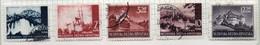 37CRT879 - CROAZIA 1941 , Vedute Alcuni Esemplari Usati : Carta Sottile. (CRT) - Kroatien
