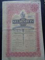 AFRIQUE DU SUD - THE GELDENHUIS DEEP - TITRE DE 1 ACTION DE 1 £ SERLING - LONDRES 1899 - PEU COURANT - Unclassified