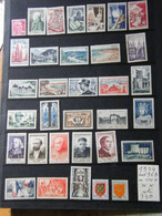 Annees Compltes  1954  Neuf ** - 1950-1959