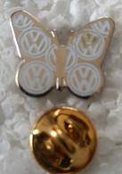 Pin's - Automobiles - Volkswagen - Papillon - - Volkswagen