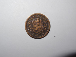 Suisse / Switzerland Pièce 1 Rappen 1850A - Suiza