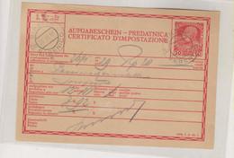 CROATIA AUSTRIA 1918 SIBENIK SEBENICO Nice Postal Document - Kroatien