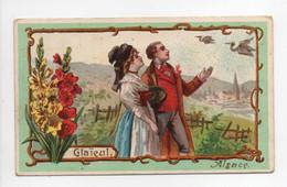 - CHROMO CHICORÉE A LA BELLE JARDINIÈRE - C. BERIOT, LILLE - Litho. Duffit : Glaïeul - Alsace - - Tea & Coffee Manufacturers