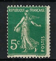 FRANCE 1907: Le Y&T 137b Neuf** - 1906-38 Sower - Cameo