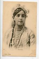 ALGERIE ALGER Une Belle Fatma Jeune Fille Et Ses Nombreux Bijoux  J Geiser 148   - 1900 D14 2021 - Algeri
