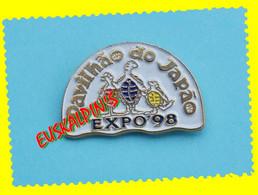 Pin's Exposition Universelle De LISBONNE 1998, Pavillon Du Japon, Tortue, Turtle - Transportation