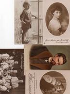 DC2834 - Ak Königshäuser Adel König Prinzessin Prinz Verschiedene Karten Lot 5 Stück - Familias Reales