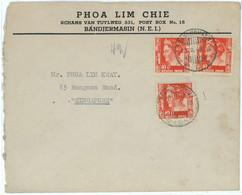 93676  - DUTCH INDIES Indonesia - POSTAL HISTORY -  COVER To SINGAPORE 1948 - Indonésie