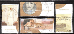 3229/32  Fernand Khnopff - Série Complète - Oblit. Centrales - LOOK!!!! - Used Stamps