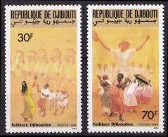 PMo - Djibouti N° 652/653** (cote2.30) - Yibuti (1977-...)