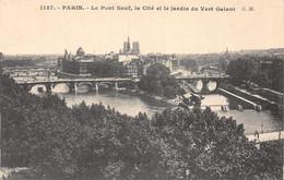 75-PARIS PONT NEUF LA CITE-N°4462-E/0053 - Sonstige