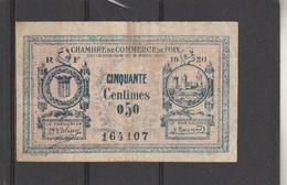 Chambre Commerce FOIX  - Billet 50 Centimes - 6/3/1920 - 164107 - Chambre De Commerce