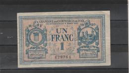 Chambre Commerce FOIX  - Billet Un Franc - 6/3/1920 - 129961 - Chambre De Commerce
