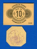 Pg  1914  / 1918   2 Bons - Buoni & Necessità