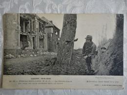 CPA FONCQUEVILLERS - La Grande Guerre 1914 - 18 - La Gendarmerie - Obus Encastré Dans Un Arbre - 1915 - Other Municipalities