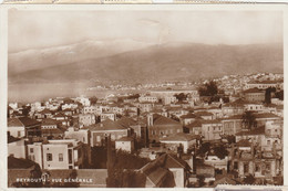 Lebanon Postcard Beyrouth (Beirut) City View - Lebanon