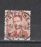 COB 1028 Centraal Gestempeld Oblitération Centrale CHATELINEAU - 1953-1972 Glasses