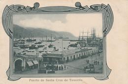 Spain Postcard Tenerife Puerto De Santa Cruz Early Card 1905 - Tenerife