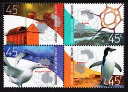 Australian Antarctic Territory (AAT) - 2002 - Antarctic Research - Mint Stamp Set - Unused Stamps