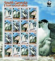 South Georgia - 2008 - Chinstrap Penguin - Mint Miniature Stamp Sheet - South Georgia