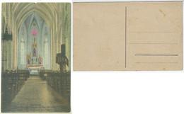 Brazil Rio Grande Do Sul 1930s Postcardmain Altar Of The Patron Saint Peter São Pedro In Garibaldi Unused - Altri