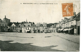 MONTBAZON - LA PLACE - CÔTE NORD - - Montbazon