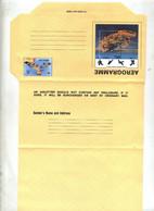 Aerogramme 22 Oiseau Illustré - Gibraltar