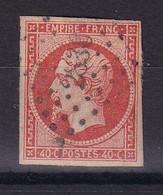 D 176 / LOT NAPOLEON N° 16 OBL COTE 22€ - 1853-1860 Napoleon III