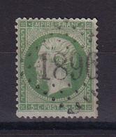 D 176 / LOT NAPOLEON N° 20 OBL COTE 10€ - 1862 Napoleon III