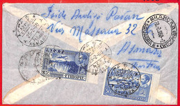 Aa0179 - ETHIOPIA - POSTAL HISTORY - REGISTERED Airmail COVER To ITALY  1960 - Waterfalls - Ethiopia