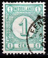 Kleinrond LEENS Op 31a Tanding, Zie Scan - Postal History