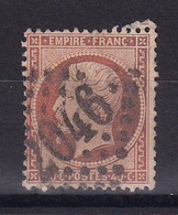 D 176 / LOT NAPOLEON N° 23 OBL COTE 15€ - 1862 Napoleon III