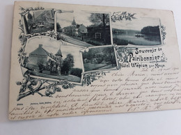SOUVENIR DE PAIRIBONNIER HÔTEL WEPION SUR MEUSE VERZONDEN 1900 NAAR BRUXELLES - Non Classés