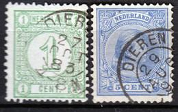Kleinrond DIEREN Op 31 En 35 - Postal History